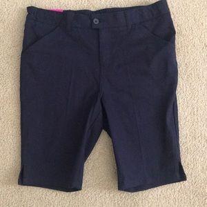 Brand new navy uniform shorts